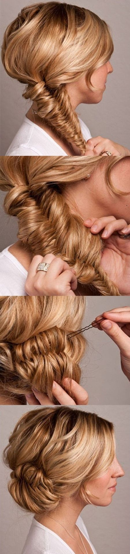 Here s a super lovely wedding hair tutorial we found on pinterest